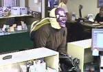 Em junho, um ladrão assaltou uma agência do banco 'American Federal' em Bozeman, nos EUA, usando uma máscara roxa.